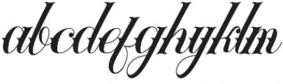 Tribal Regular otf (400) Font LOWERCASE