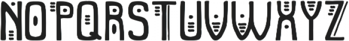 Tribal elephant otf (400) Font UPPERCASE