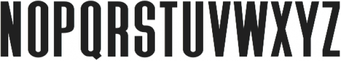 Triester Sans otf (400) Font UPPERCASE