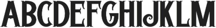 Trigger otf (400) Font LOWERCASE