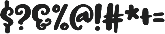 Trillian Taller otf (400) Font OTHER CHARS