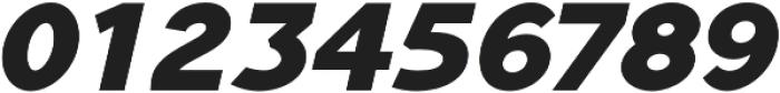 Tripleta Black Italic otf (900) Font OTHER CHARS