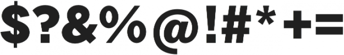 Tripleta Black otf (900) Font OTHER CHARS