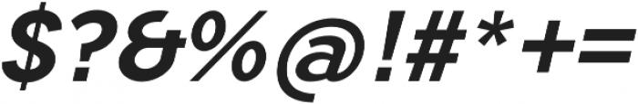 Tripleta Bold Italic otf (700) Font OTHER CHARS