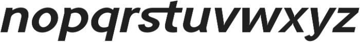 Tripleta Bold Italic otf (700) Font LOWERCASE