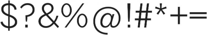 Tripleta Light otf (300) Font OTHER CHARS
