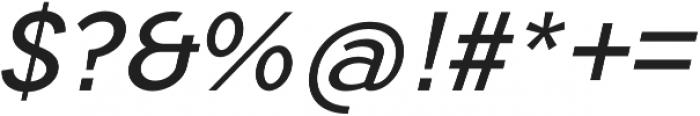 Tripleta Regular Italic otf (400) Font OTHER CHARS