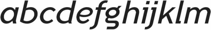 Tripleta Regular Italic otf (400) Font LOWERCASE