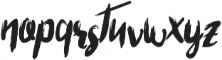 Tristan Font ttf (400) Font LOWERCASE