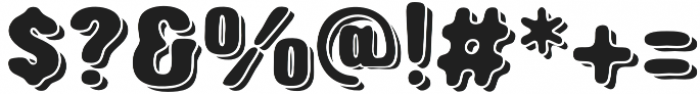Triump Rg Blur 06 otf (400) Font OTHER CHARS