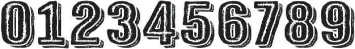 Triump Rg Rock 08 otf (400) Font OTHER CHARS