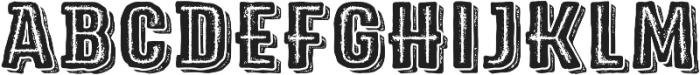 Triump Rg Rock 08 otf (400) Font UPPERCASE