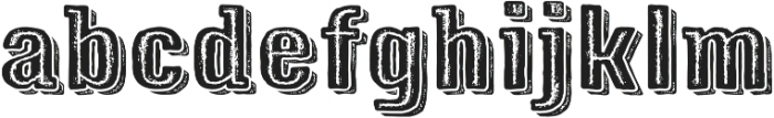 Triump Rg Rock 08 otf (400) Font LOWERCASE