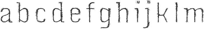 Triump Rg Rock 09 otf (400) Font LOWERCASE