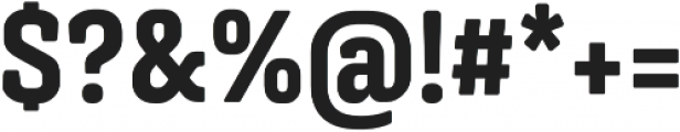 Triunfo Condensed otf (800) Font OTHER CHARS