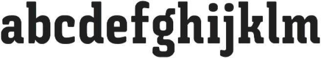 Triunfo Condensed otf (800) Font LOWERCASE