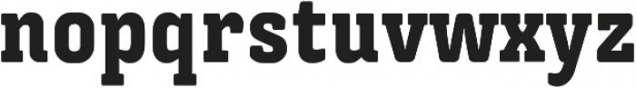 Triunfo Condensed otf (900) Font LOWERCASE
