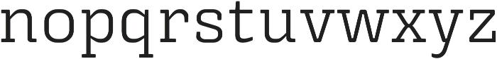 Triunfo otf (400) Font LOWERCASE