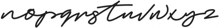Trixie Bold otf (700) Font LOWERCASE