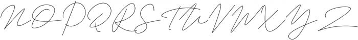 Trixie Light otf (300) Font UPPERCASE