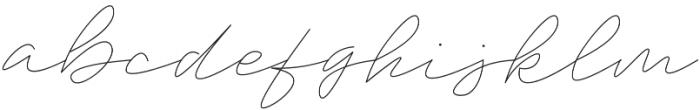 Trixie Light otf (300) Font LOWERCASE
