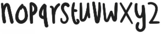 Troficanos Regular otf (400) Font LOWERCASE