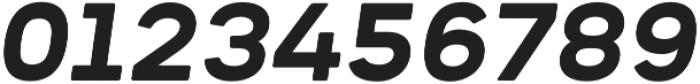 Troia R Bold Italic Regular otf (700) Font OTHER CHARS