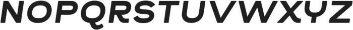 Troia R Bold Italic Regular otf (700) Font UPPERCASE