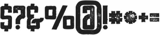 Tron Bold Grunge otf (700) Font OTHER CHARS