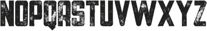 Tron Bold Grunge otf (700) Font UPPERCASE