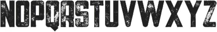 Tron Bold Grunge otf (700) Font LOWERCASE