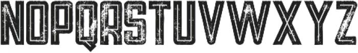 Tron Bold Inline Grunge otf (700) Font UPPERCASE