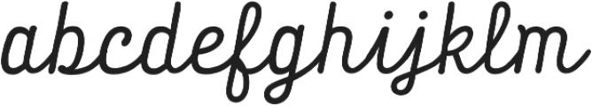 Tropen Script Italic otf (400) Font LOWERCASE