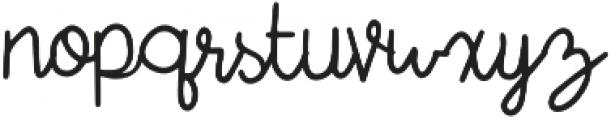 Tropical Flamingo Script otf (400) Font LOWERCASE