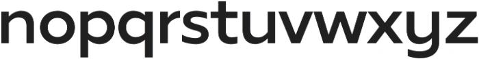 Tropiline Sans otf (700) Font LOWERCASE