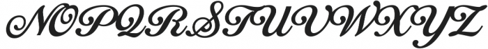 Tropiline Script otf (700) Font UPPERCASE