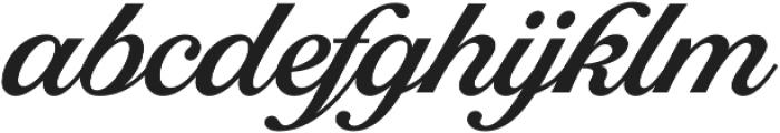 Tropiline Script otf (700) Font LOWERCASE