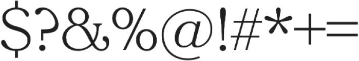 Tropiline otf (300) Font OTHER CHARS