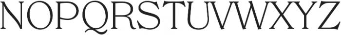 Tropiline otf (300) Font UPPERCASE