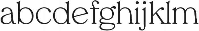 Tropiline otf (300) Font LOWERCASE