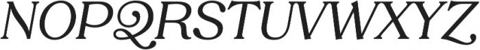Tropiline otf (400) Font UPPERCASE