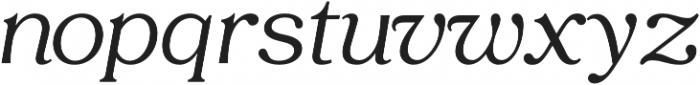 Tropiline otf (400) Font LOWERCASE