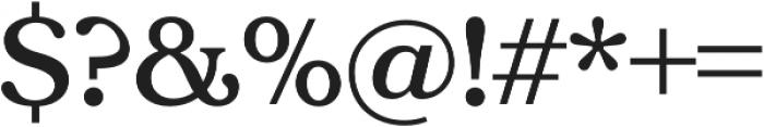 Tropiline otf (600) Font OTHER CHARS