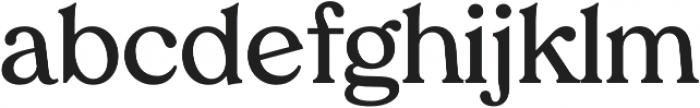 Tropiline otf (600) Font LOWERCASE