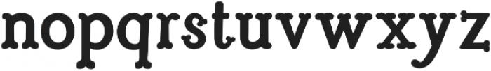 Troupe Bold otf (700) Font LOWERCASE