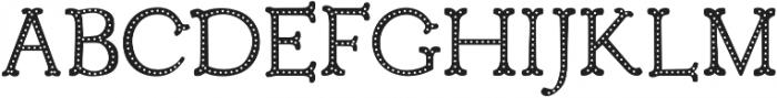 Troupe Dots otf (400) Font UPPERCASE