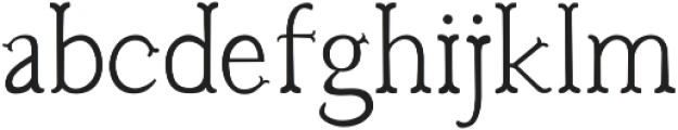 Troupe Light otf (300) Font LOWERCASE