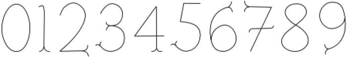 Troupe Ultra Light otf (300) Font OTHER CHARS