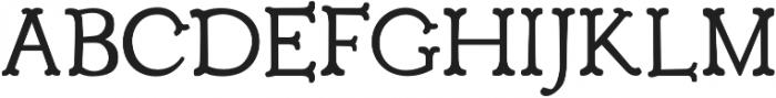 Troupe otf (400) Font UPPERCASE