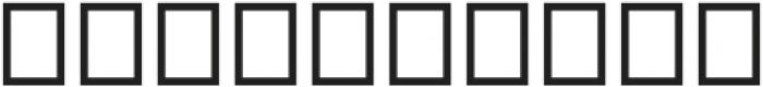 Trowel otf (400) Font OTHER CHARS